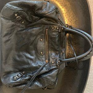 Black Balenciaga Calfskin Bag
